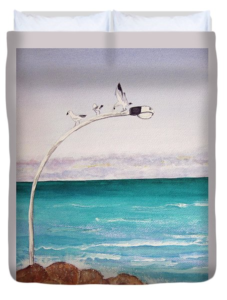 Burns Beach Duvet Cover