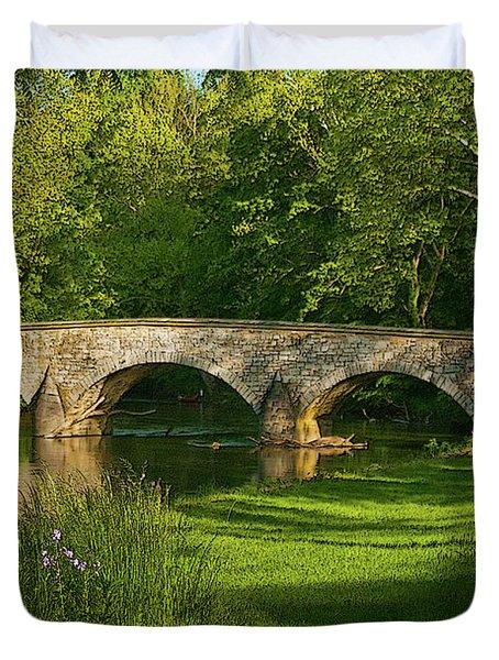 Burnside Bridge Duvet Cover