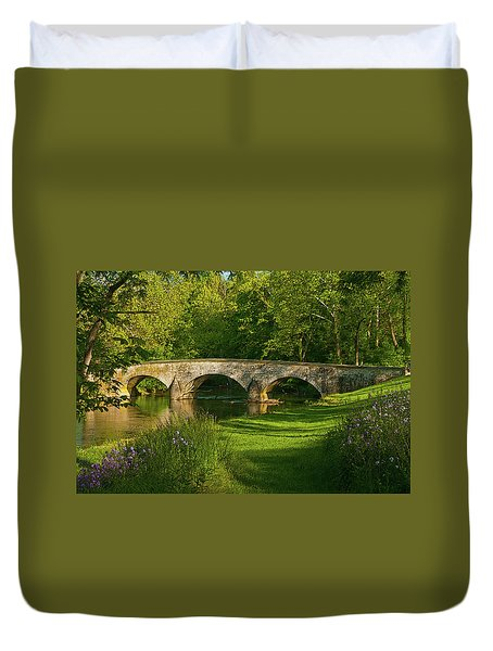 Burnside Bridge Duvet Cover