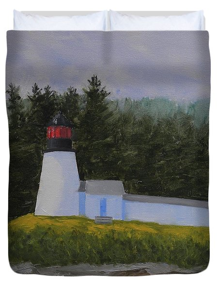 Burnt Island Light Duvet Cover