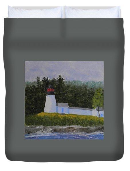 Burnt Island Light Duvet Cover