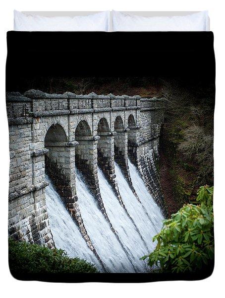 Burrator Reservoir Dam Duvet Cover