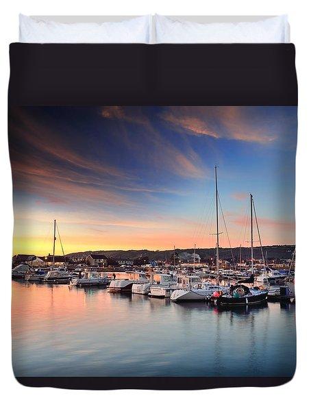 Burry Port 2 Duvet Cover