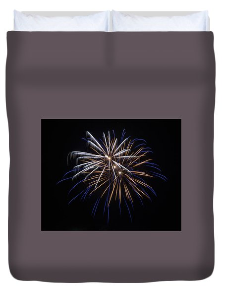 Duvet Cover featuring the photograph Burst Of Elegance by Bill Pevlor