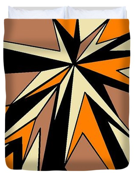 Burst Of Orange 2 Duvet Cover