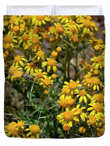 Burst Of Yellow Duvet Cover