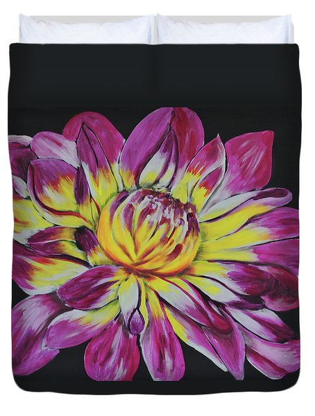 Bursting Bloom Duvet Cover