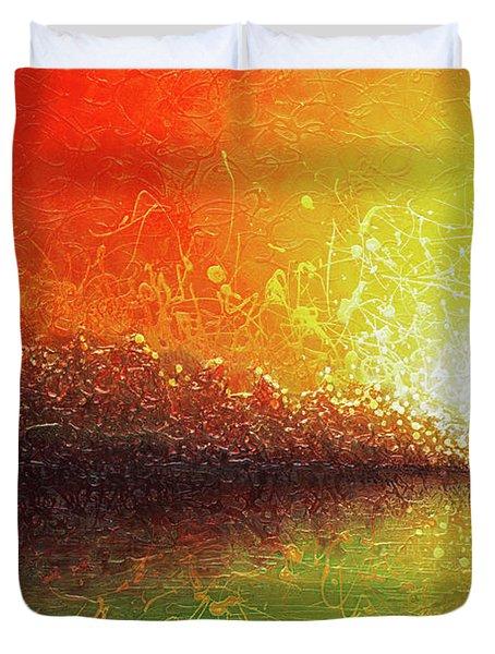 Bursting Sun Duvet Cover