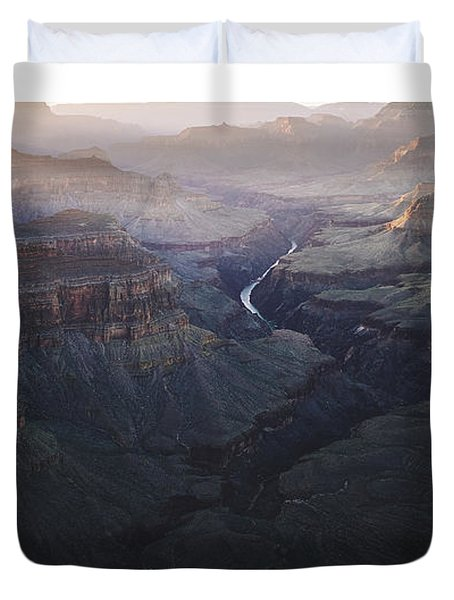 Bury Me At The Heart Of The River Duvet Cover