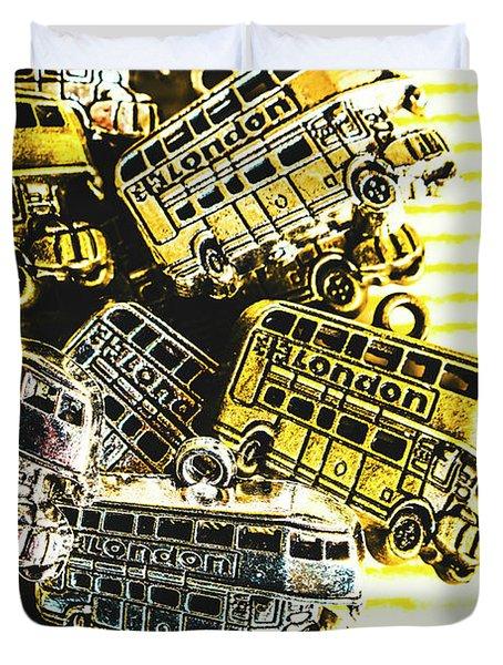 Bus Lines Duvet Cover