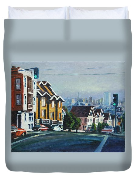 Bush Street Duvet Cover