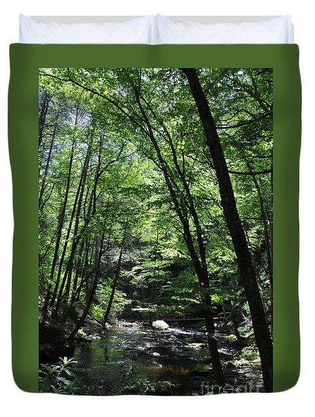 Bushkill Creek Duvet Cover