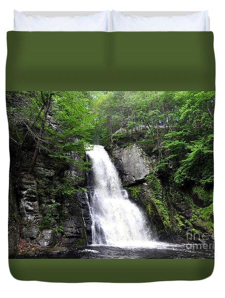 Bushkill Fall - Five Duvet Cover