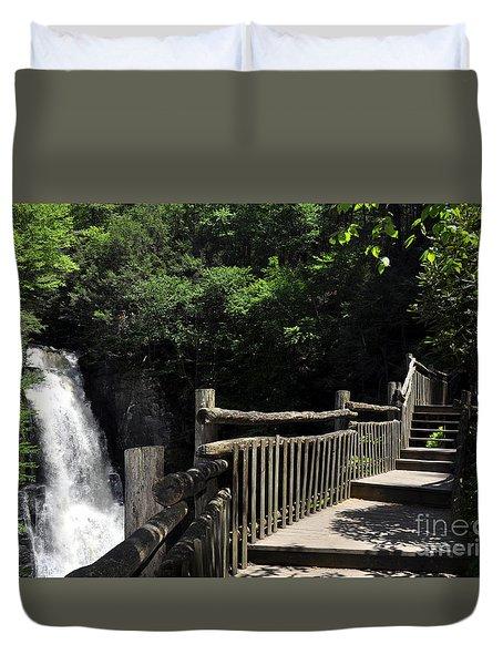 Bushkill Fall - Two Duvet Cover
