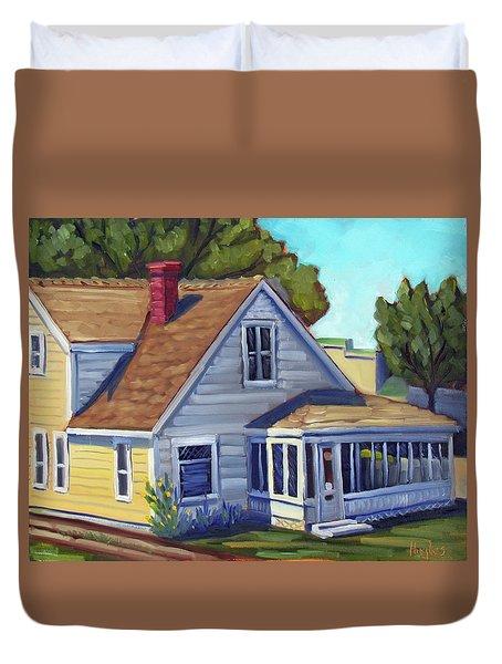 Bushnell House - Eagle Idaho Duvet Cover