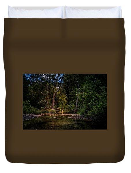 Busiek State Forest Duvet Cover
