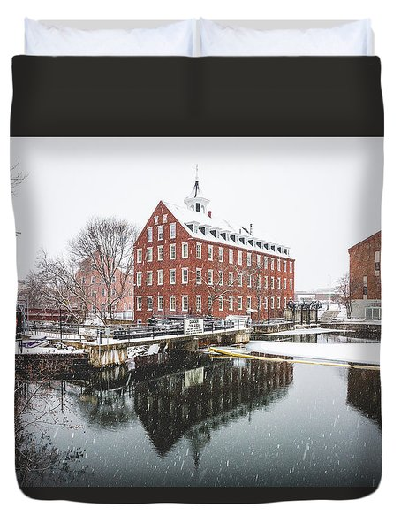 Busiel-seeburg Mill Duvet Cover by Robert Clifford