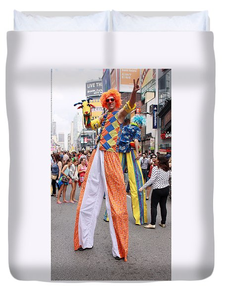Busker Fest In Toronto August 2014 Duvet Cover