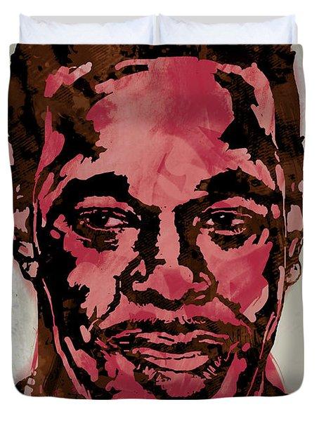 Busta Rhymes Pop Stylised Art Sketch Poster Duvet Cover