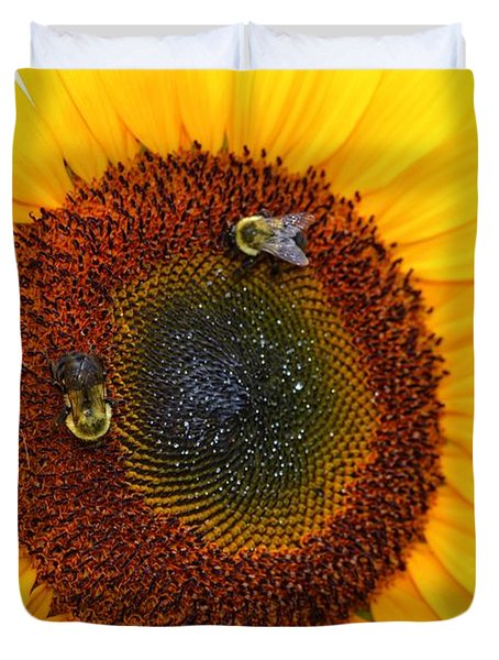 Busy Bees  Duvet Cover