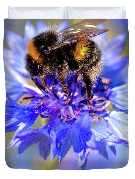 Busy Little Bee Duvet Cover