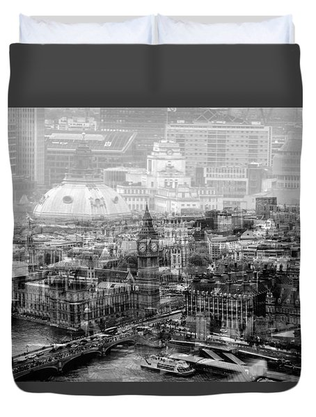 Busy London Duvet Cover