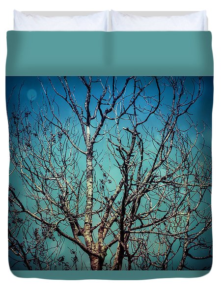 Duvet Cover featuring the photograph But I Remember.. by Joel Witmeyer