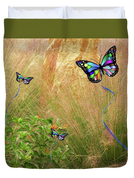 Buterflies Dream Duvet Cover