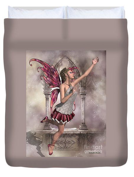 Buttercup Fairy Duvet Cover by Corey Ford