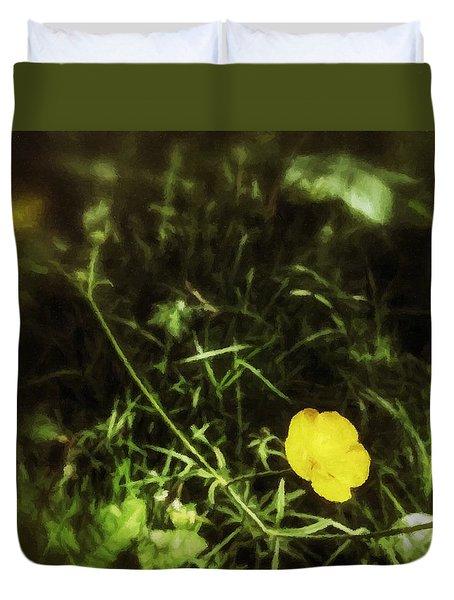 Buttercup Glen Duvet Cover