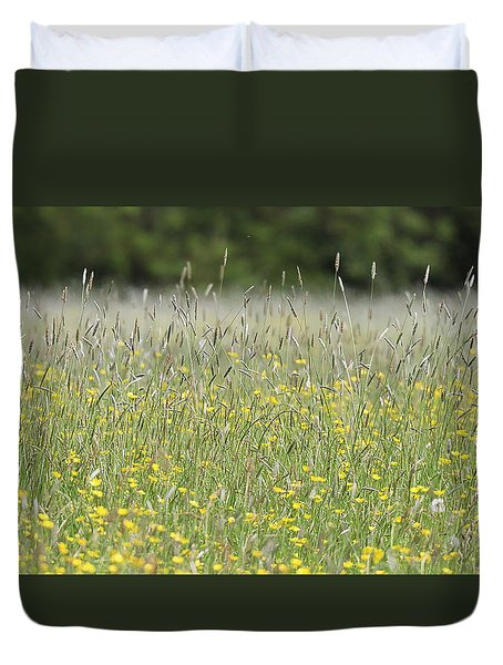 Buttercup Meadow Duvet Cover