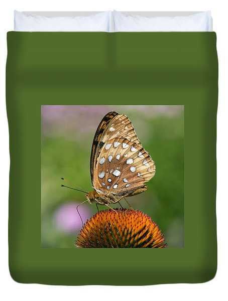 Butterflies In The Wild Duvet Cover