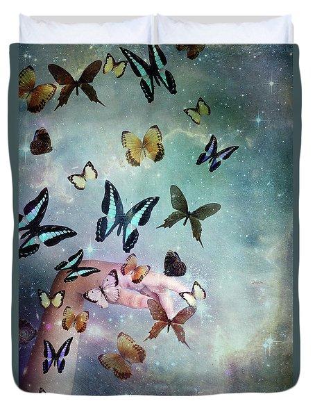 Butterflies Reborn Duvet Cover