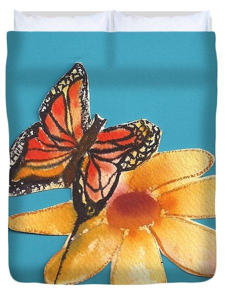 Butterflower Duvet Cover