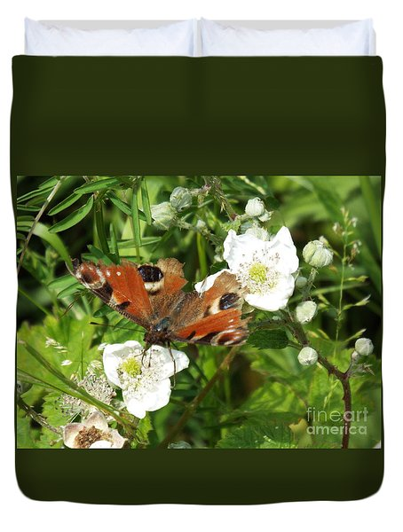 Butterflower Duvet Cover