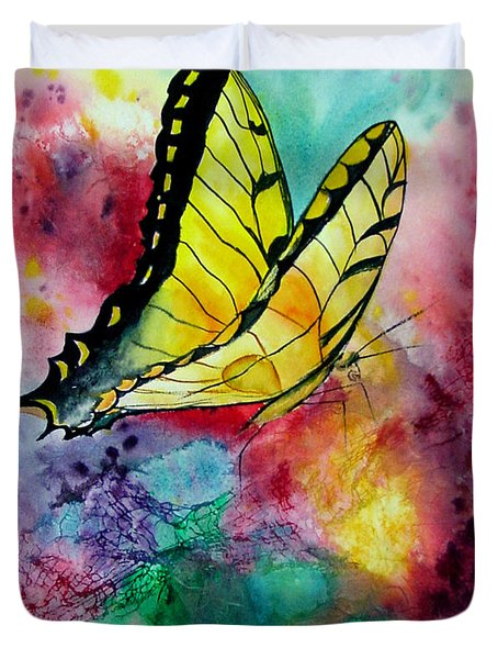 Butterfly 2 Duvet Cover by Dee Carpenter