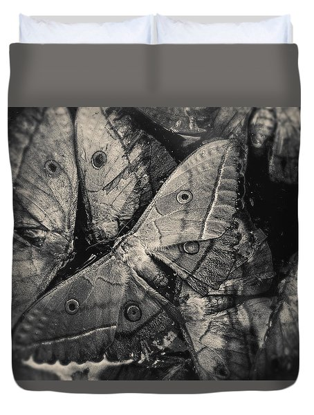 Butterfly #2056 Duvet Cover by Andrey Godyaykin