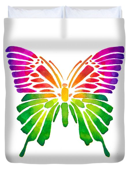 Butterfly 3 Duvet Cover