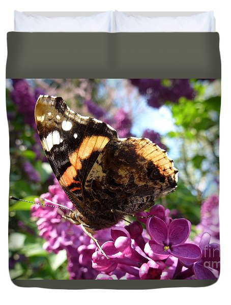 Butterfly 7 Duvet Cover