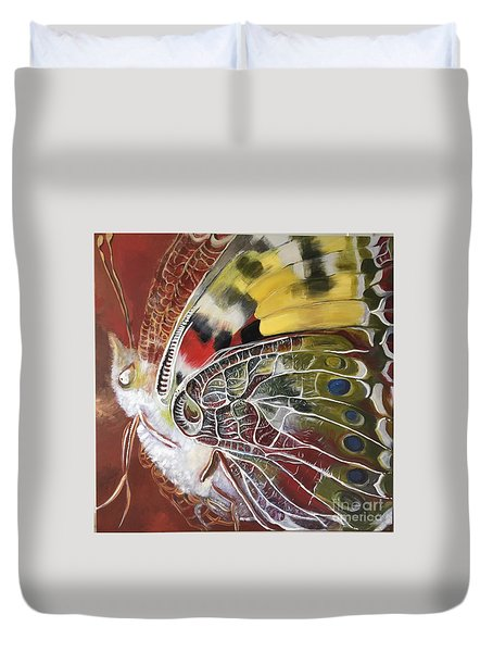 Butterfly Artbox Project 1 Basel Duvet Cover