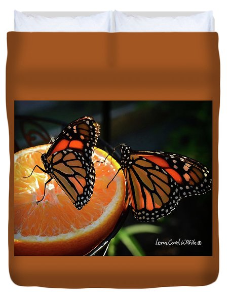 Butterfly Attraction Duvet Cover
