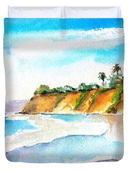 Butterfly Beach Santa Barbara Duvet Cover