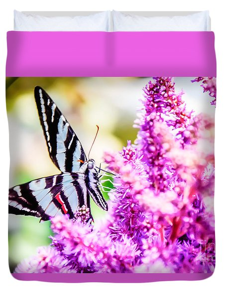 Butterfly Beautiful  Duvet Cover by Peggy Franz