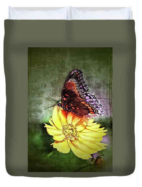 Butterfly Duvet Cover by Bonnie Willis