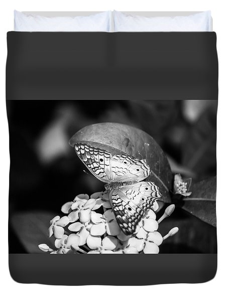 Butterfly Bw - Ins18 Duvet Cover