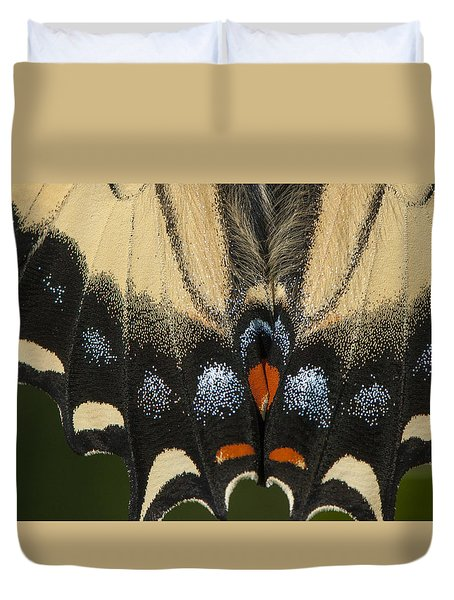 Butterfly Colors Duvet Cover