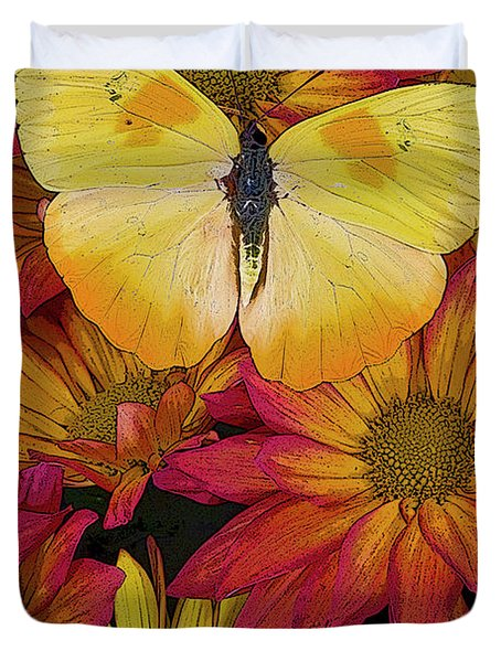 Butterfly Detail Duvet Cover by JQ Licensing