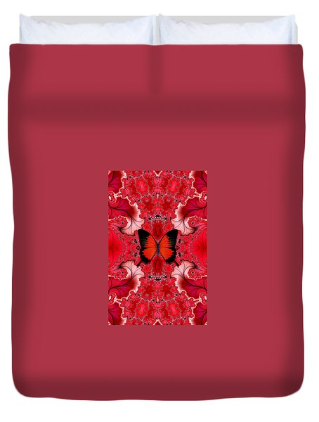 Butterfly Dream Phone Case Duvet Cover by Lea Wiggins
