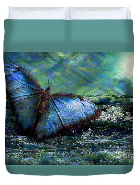 Butterfly Dreams 2015 Duvet Cover