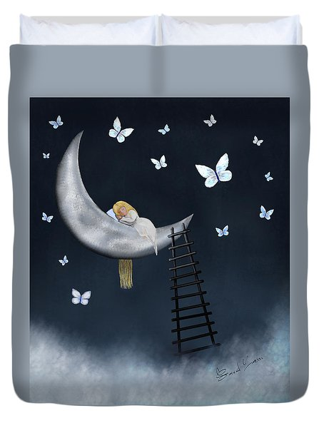 Butterfly Dreams By Sannel Larson Duvet Cover